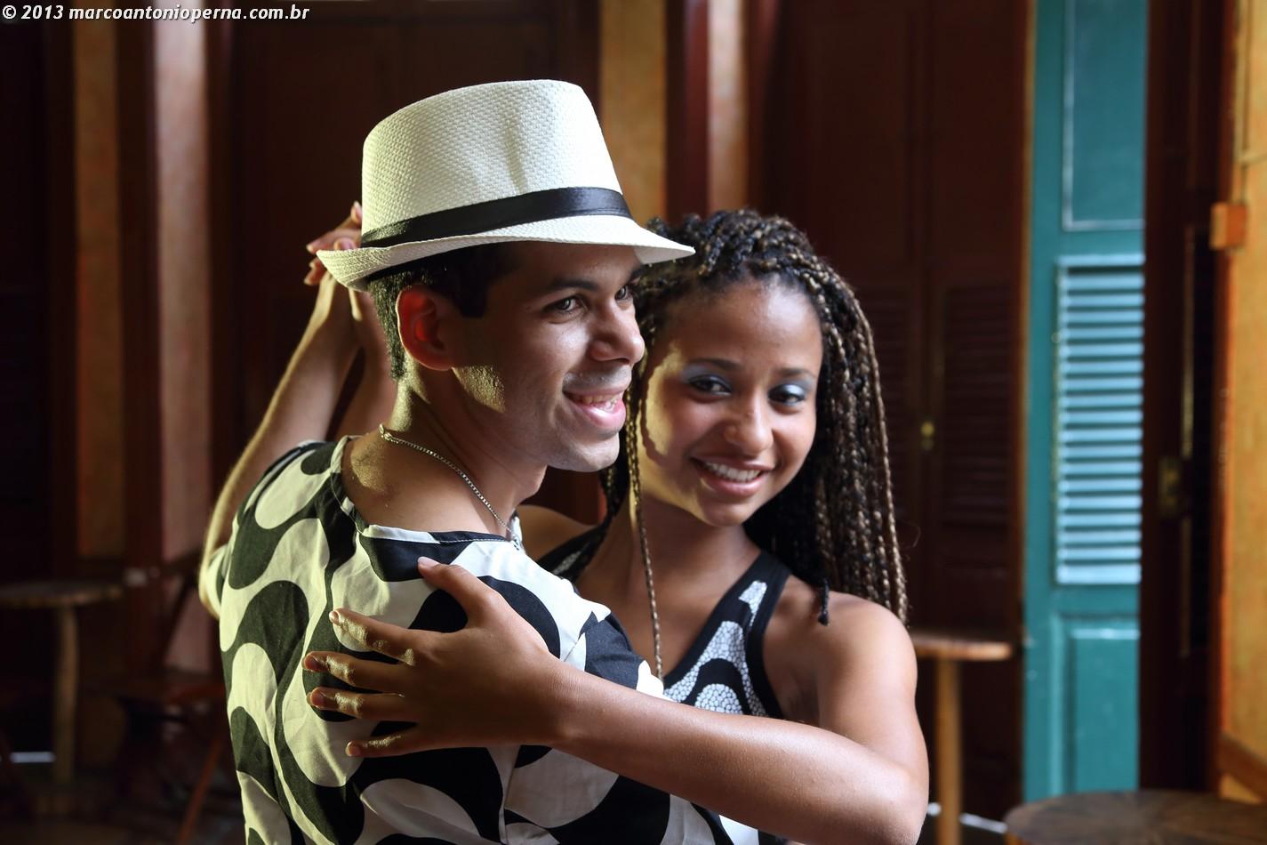 Samba de Gafieira - Modelos: David Theodor e Aline Marques