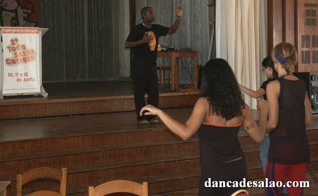 Congresso de Salsa no Rio de Janeiro em junho de 2005, no clube Sírio e Libanês