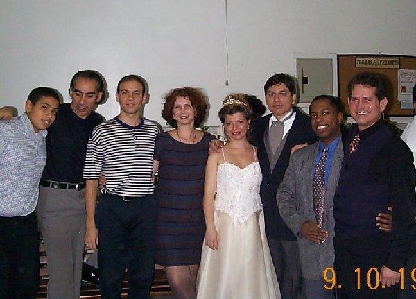 Fotos do Casamento de Marco Antonio Perna e Christina Maia - RJ - 09.10.1999