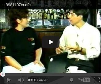 Entrevista na Vinde TVDia 07/11/1998, às 13h, Carolina Vigna entrevista Marco Antonio Perna, Webmaster da Agenda, no programa Cyber Café da Vinde TV (NET, TVA, etc.)...