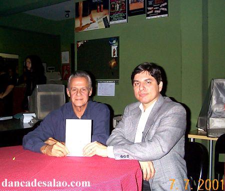 Lançamento do livro Samba de Gafieira e a dança de salão carioca , de Marco Antonio Perna, Em Belo Horizonte.Dia 06/7/2001, na Mimulus Dança de Salão.Veja em:...