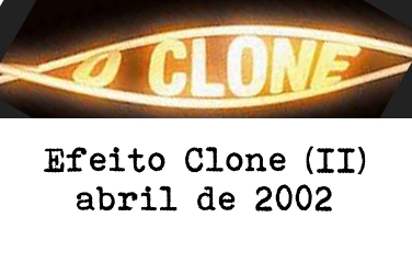 Quando começou a novela O Clone eu e muitos do meio da dança de salão, no Rio, pensamos que iria aumentar o interesse da população, já que a modalidade está em baixa atualmente. Infelizmente, como a S...