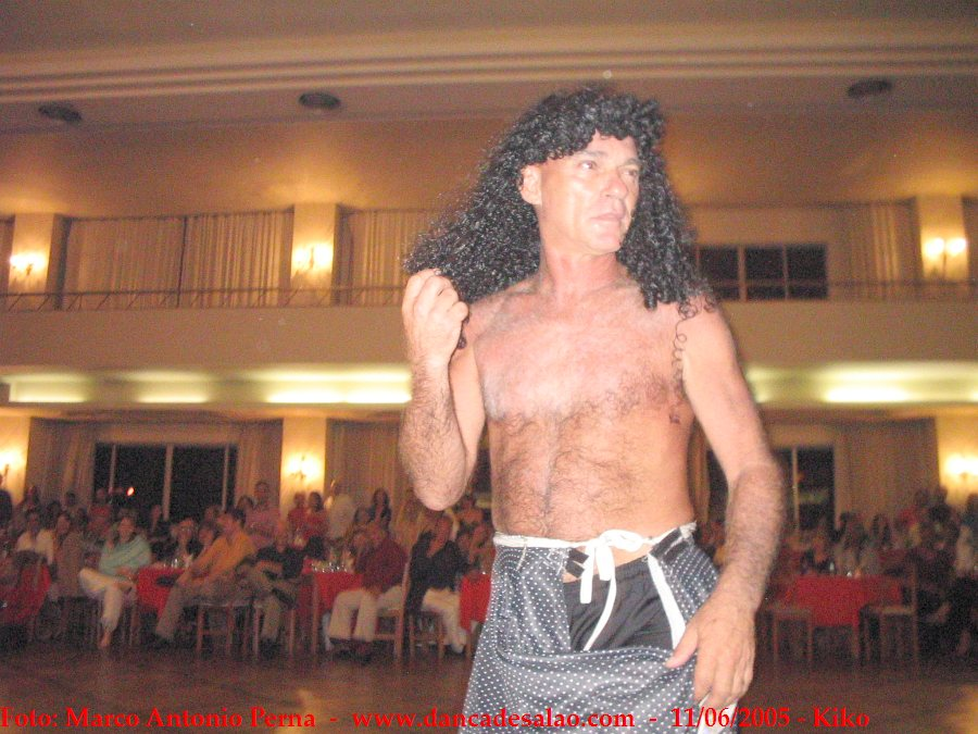 Baile do Kiko 2005 no clube Sírio e Libanês