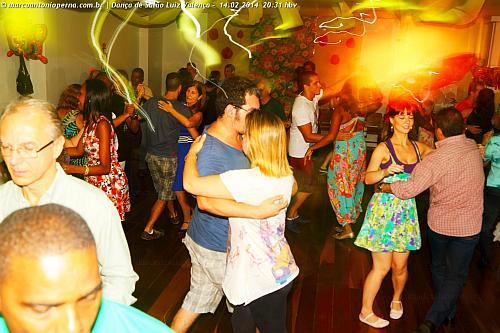 Baile na academia Dança de Salão Luiz Valença - Tijuca - Rio de Janeiro - RJ - 14.02.2014.