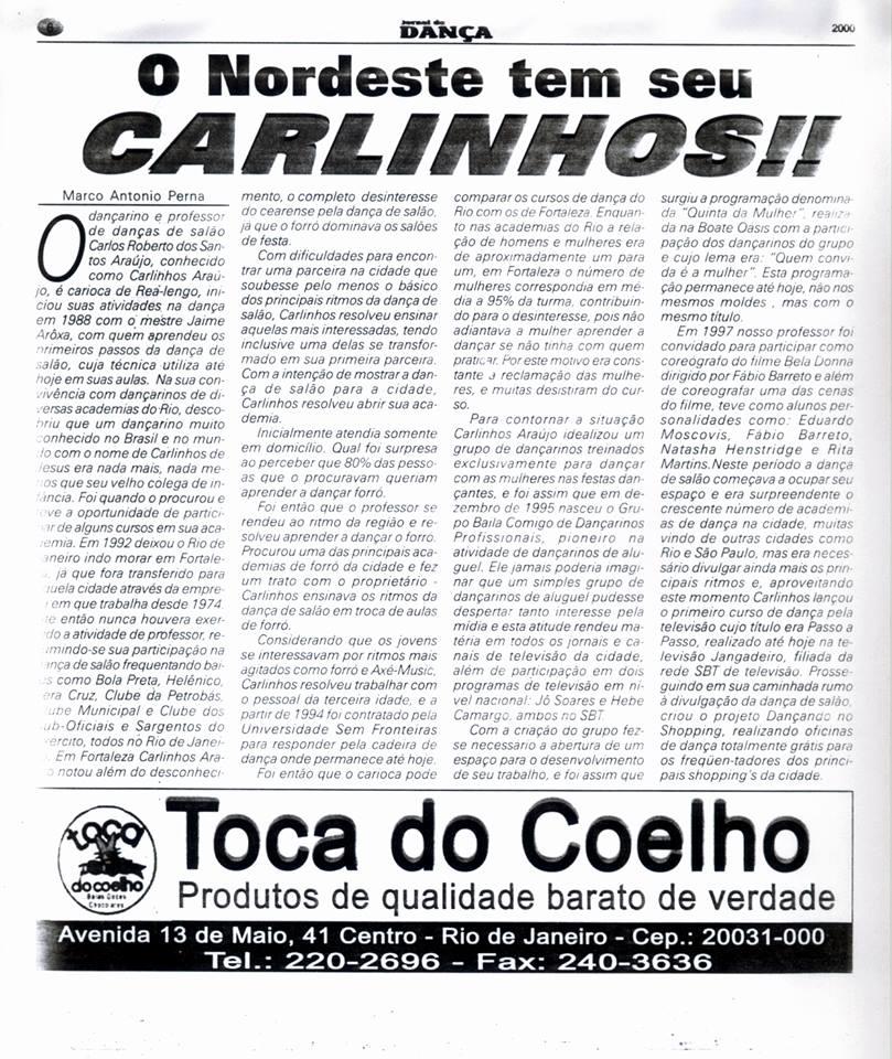 Artigo em jornal