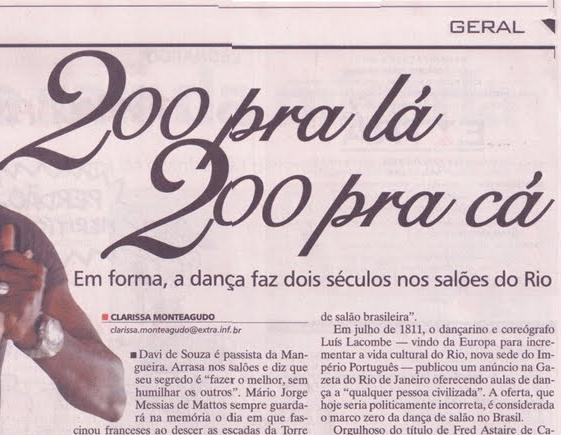 jornal Extra - Clique na imagem...