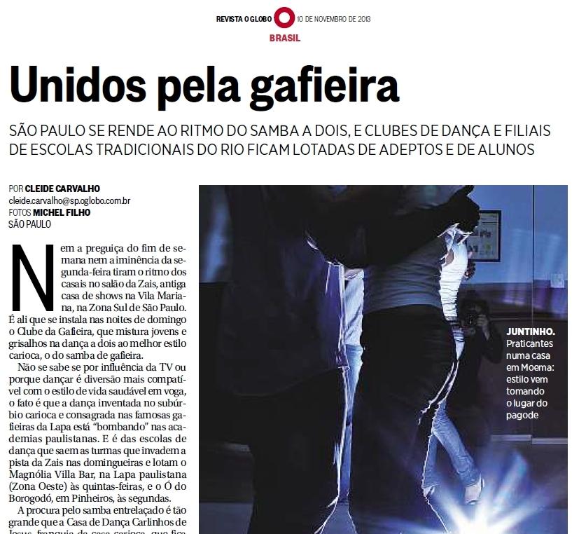 Revista de Domingo - O Globo http://issuu.com/marcoantonioperna/docs/unidospelagafieira-revistadedomingo...