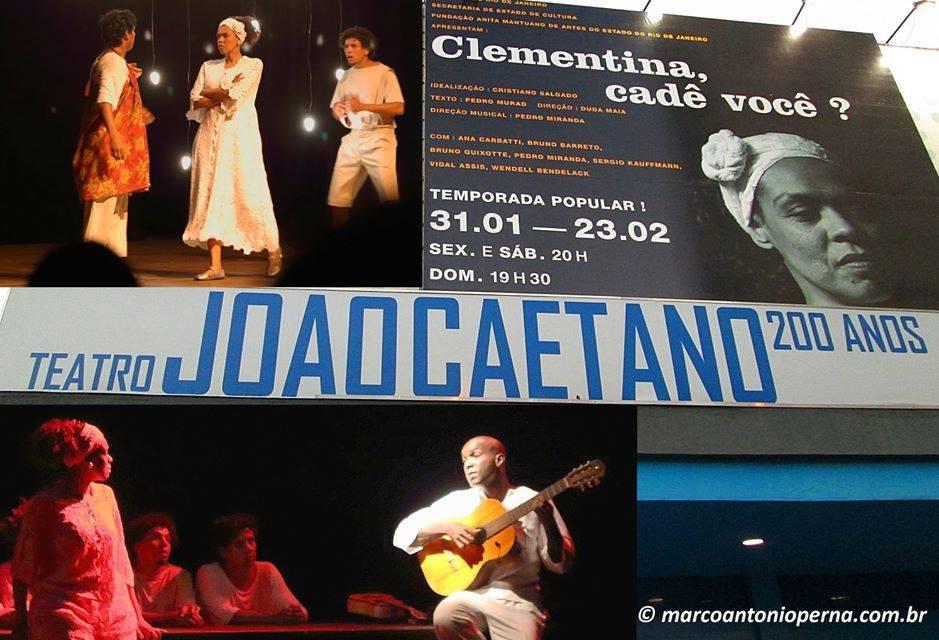 No João Caetano, é claro! Aquele teatro que em 2013 fez 200 anos e é a grande referência teatral carioca. A temporada no João Caetano é de 31/01 a 23/02/2014. A estreia em grandioso...