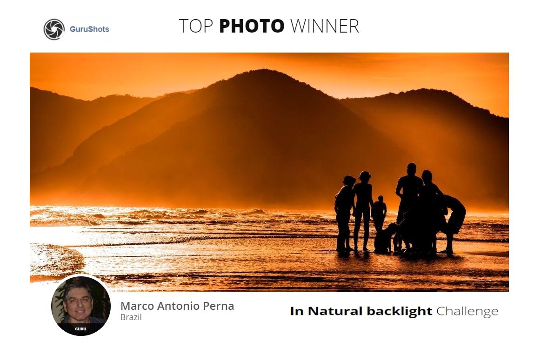 In Natural backlight