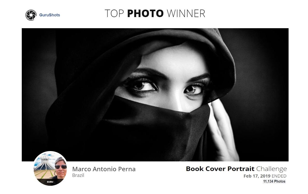 Book Cover Portrait - Liberdade do Olhar