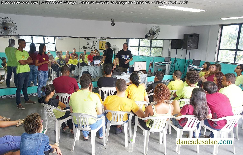Palestras sobre a história da Dança de Salão Brasileira